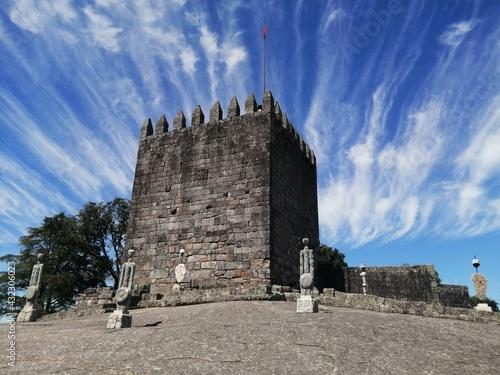 Castelo de Lanhoso, Póvoa de Lanhoso, Portugal. Fototapeta