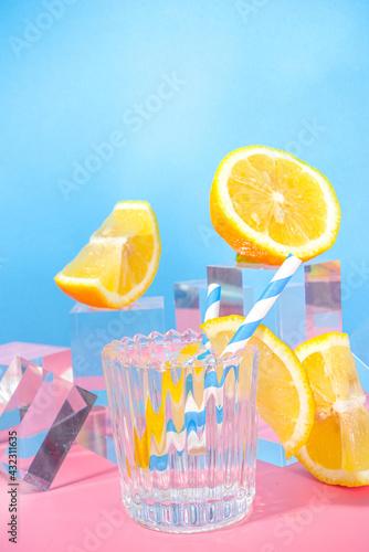 Obraz Summer bright lemonade - fototapety do salonu