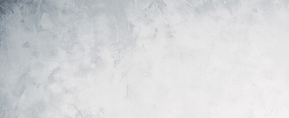 White or light gray concrete wall texture background