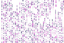 Light Purple Vector Pattern With Spheres And Glitter Abstract Illustration With Blurred Drops Of Dots The Pattern Can Be Used For Beautiful Backgrounds.eps