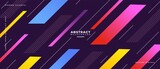 Abstract geometric shapes composition banner_9_3