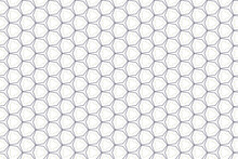 Pattern With Hexagons. Seamless Pattern Hexagonal Cell Texture, Grid Background, Honeycomb, Vector