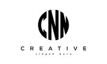Letters CNN Creative Circle Logo Design Vector