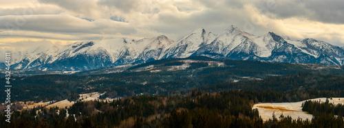 Tatra Mountains panorama - fototapety na wymiar