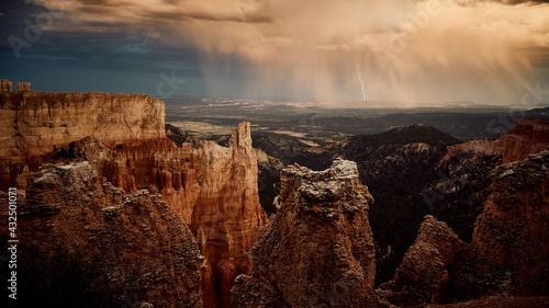 Slika na platnu grand canyon national park earth beauty