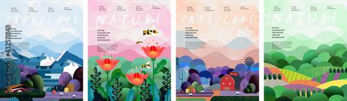 Tableau sur Toile Nature and landscape