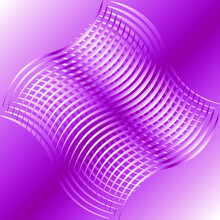 Abstraction, Bright Purple Waves Combined With Others Transversely On A Light Purple Background, Gradient, Abstraction, Background For Banner, Wallpaper, Brochure, Landing Page, Poster Or Book,vector