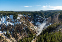 Yellowstone National Park - Near And At The Grand Canyon Of Yellowstone And Biscuit Basin