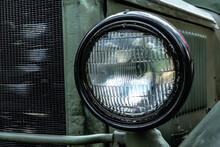 Headlight Of Military Truck Zis 6