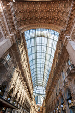 The Galleria Vittorio Emanuele II Is Italy's Oldest Active Shopping Mall.