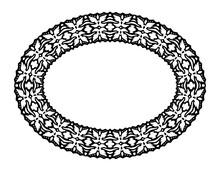 Clip Art With Isolated Black Fairy Frame