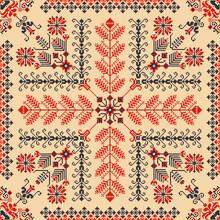 Romanian Traditional Pattern 225