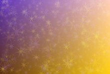 Abstract Multi Colored Background. Yellow, Purple And Transitions Colors.