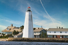 Lighthouse On The Coast CT Connecticut