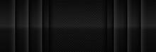 Elegant Black Texture Abstract Modern Futuristic Background. Luxurious Dark Gray Blank Space Design