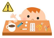 乳幼児期の事故、誤飲・火傷・怪我に注意