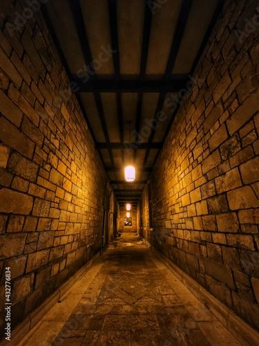 Papel de parede tunnel of light