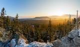 Góry Stołowe formy skalne Szczelińca Wielkiego