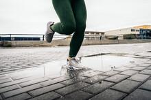 Running During Rainy Day