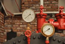 Old Water Manometer For Pressure