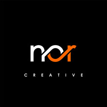 NOR Letter Initial Logo Design Template Vector Illustration