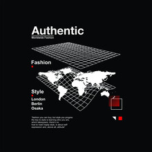 Authentic Fashion Style Simple Vintage