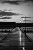 Fototapeta Pomosty - Augustowski pomost