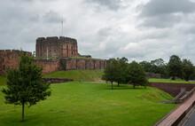 Carlisle Castle In The City Of Carlisle, Cumbria, UK