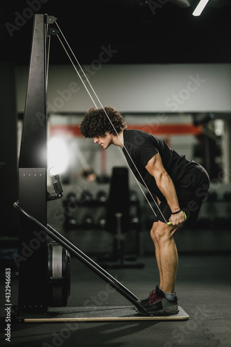 Working Hard To Reach His Goals - fototapety na wymiar
