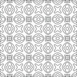 Geometric vector pattern with Black and white colors. abstract ornament for wallpapers and backgrounds.
