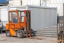 Forklift Construction Site