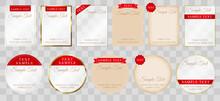 シンプルなフレーム色々 デザイナー時短 簡単サイズ変更 CMYK作成 印刷にも即対応
