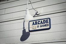Arcade And Games Sign