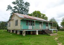 Portuguese Settlers Wooden Houses, Huila Province, Lubango, Angola
