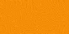 Abstract Background With Patterns Of Lines In Orange Colors