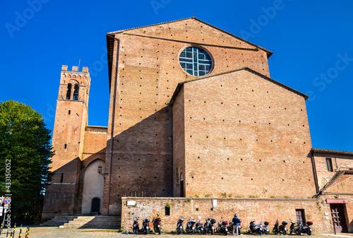 Naklejka premium The Basilica of San Domenico in Tuscany, Italy