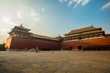 The Tiananmen Square, A City Square In The Centre Of Beijing, China, Named After The Tiananmen Located To Its North, Separating It From The Forbidden City.