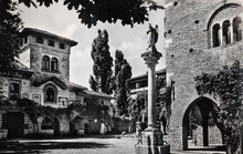 Grazzano Visconti Piacenza Luigi Visconti Square In The 60s