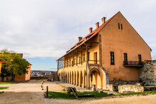 Bishop's Palace. Gothic Palace Built In XIII Century. Eger Castle (Egri Var).  Eger, Hungary