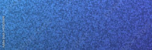 Fototapeta Abstrakter Low Poly Hintergrund als Panorama Header obraz