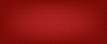 Red Star Vector Background. American Banner. Patriotic Pattern