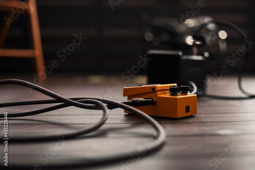 guitar overdrive pedal - fototapety na wymiar