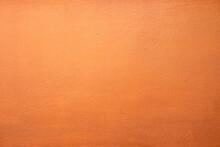 Orange Concrete Wall Texture Background.