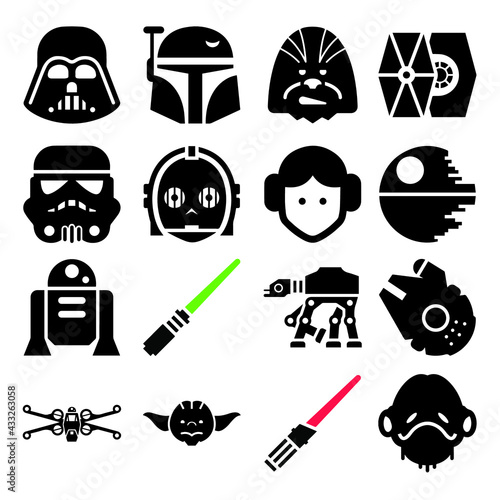 Star Wars icon set