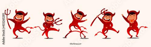 Fotografia little dancing devil
