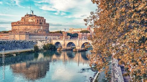 Valokuva Castel Sant'Angelo in Rome
