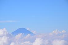富士山, 雲海, Mt. Fuji, Woodblock, Ukiyoe