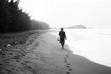 Beach Iin Batang Central Java Indonesia