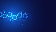 Cogs Gear Wheel Mechanisms Background