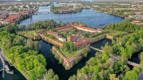 Foto Berlin, Zitadelle Spandau, Luftaufnahme vom Mai 2021